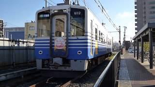 えちぜん鉄道 MC6101形6112 田原町駅