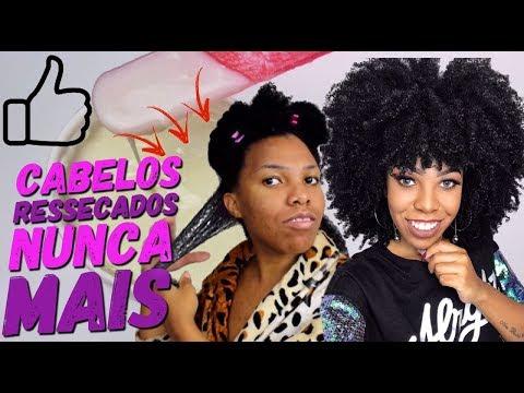 A MELHOR HIDRATAÇÃO caseira para cabelos Crespos e Cacheados - Luany Cristina