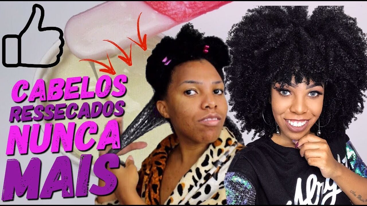 Download A MELHOR HIDRATAÇÃO caseira para cabelos Crespos e Cacheados - Luany Cristina