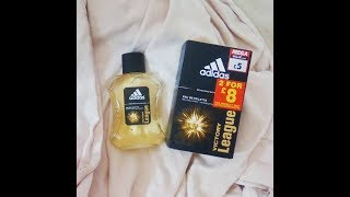 adidas victory league eau de toilette review