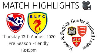 MATCH HIGHLIGHTS 🎥| New Field FC 1-7 Boxted Lodgers - Pre Season Friendly