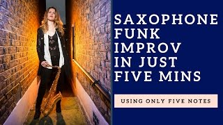 Gambar cover Learn to improvise in 5 minutes using just 5 notes + how to play over funk 🎶 tutorial
