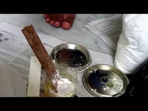 cara mencampur epoxy / how to mix epoxy