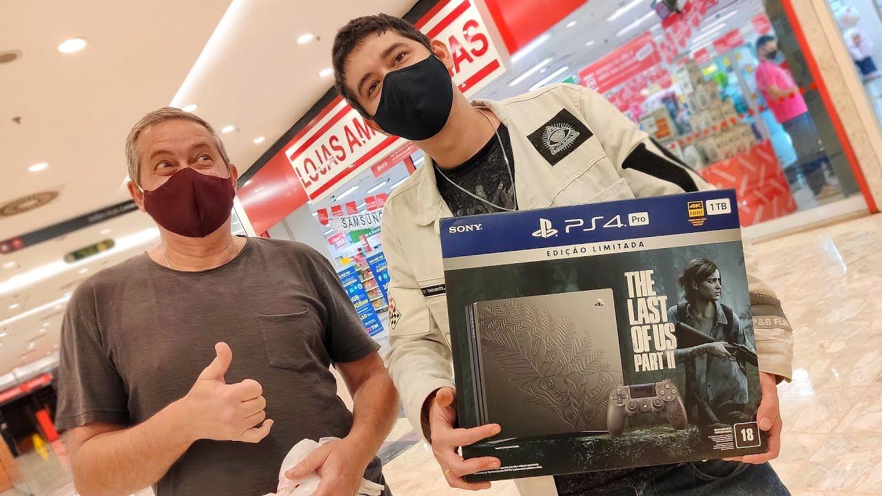 BUSCANDO O PS4 PRO | EDIÇÃO THE LAST OF US PARTII