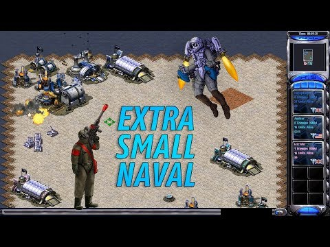 Red Alert 2 & Yuri's Revenge - Extra Small Naval - Money from Power Plant