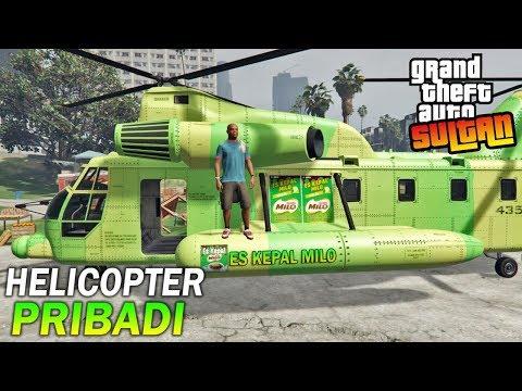 BELI HELICOPTER!! Sukses Jualan Es Kepal - GTA 5 SULTAN