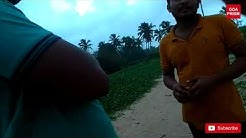 TOURIST GUIDE OFFERING MASSAGE WITH HAPPY ENDING ON THE GOA BEACH