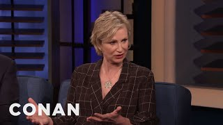 "Jane Lynch Thinks ""The Simpsons"" Have Subpar Snacks - CONAN on TBS"