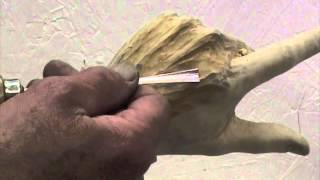 Woodcarving Lessons With Ian Norbury - 14 - The Hand Part 4