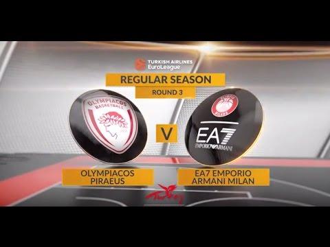 Highlights: Olympiacos Piraeus-EA7 Emporio Armani Milan ...