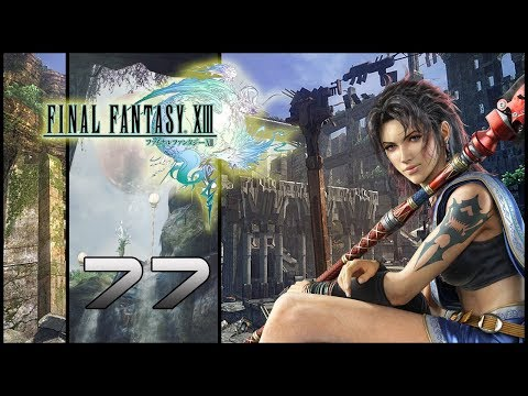 Guia Final Fantasy XIII (PS3) Parte 77 - Cingetos