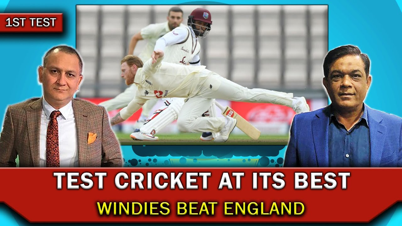 Test cricket at its best | Windies beat England