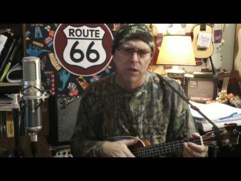 Whiskey River, Willie Nelson, cover, 208th season of the ukulele,