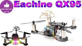 ✔ Микро FPV Квадрокоптер Eachine Tiny QX95. 71.99$ Banggood!