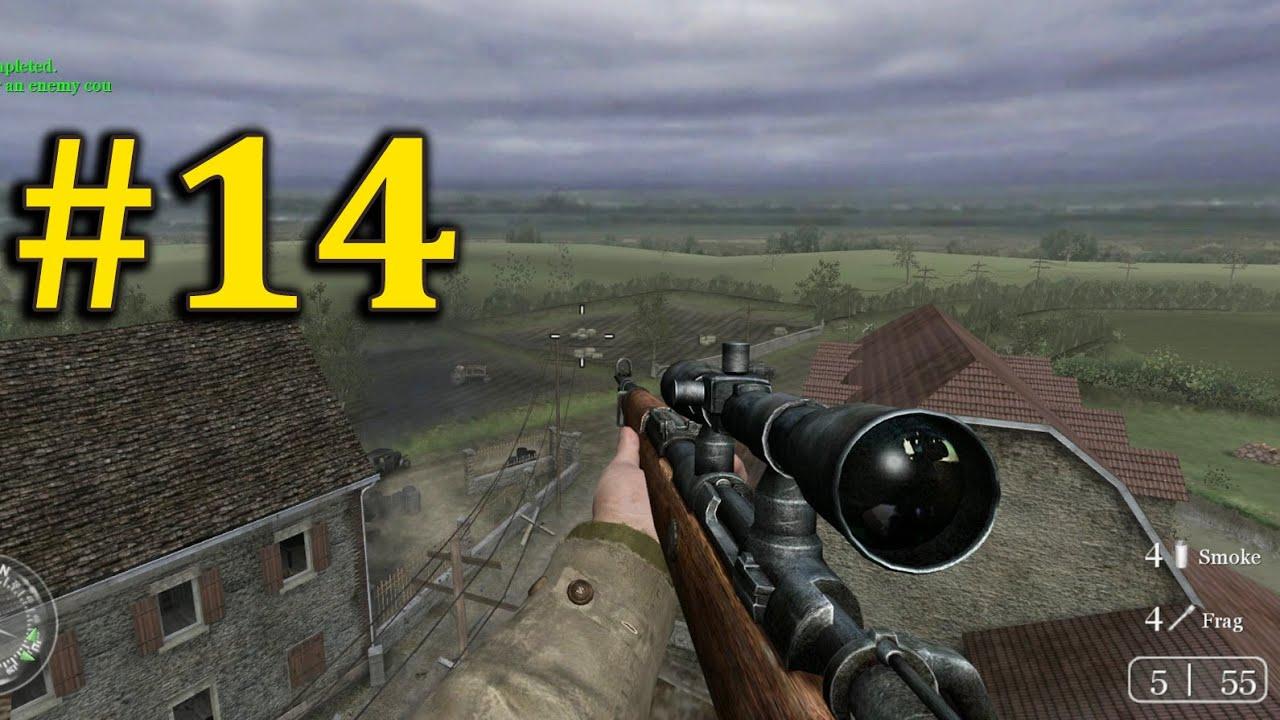 Tay Bắn Tỉa Trên Tòa Tháp Đổ Nát – CALL OF DUTY 2 – Tập 14