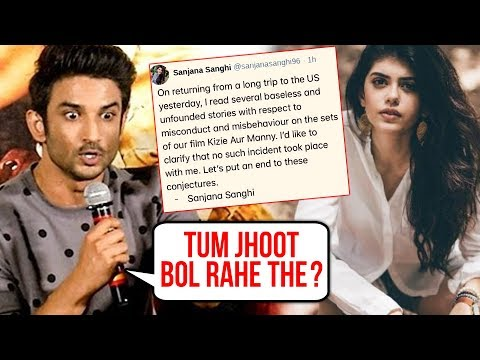 Sanjana Sanghi REACTS On Accusing Sushant Singh Rajput Of Sexual Harassment Mp3