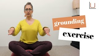 Grounding Exercise