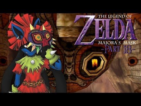 Let's Play The Legend of Zelda: Majora's Mask: Part 18 - Stone Tower Temple