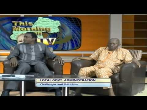 Local Government Administration: Challenges And Solution In Focus On This Morning On ITV