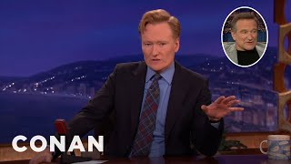 Conan Remembers Robin Williams, The Best Talk Show Guest In The World
