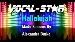 Alexandra Burke - Hallelujah (Karaoke Version) with Lyrics HD Vocal-Star Karaoke