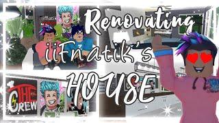 Renovando a casa de iifnatik! | Roblox Bloxburg