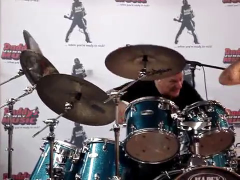 Gregg Bissonette - Drum Solo - May 2007 - Daddy's Junky Music Manchester, NH