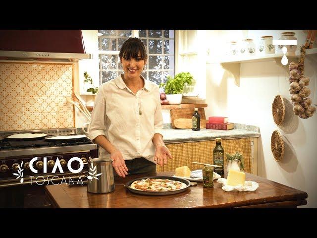 PIZZA COM PECORINO E PESTO  | Ciao Toscana com Uiara Araújo