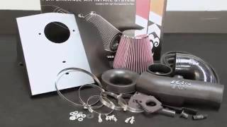 how to install k cold air intake 63 3078