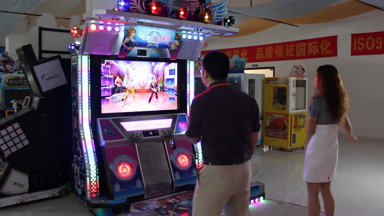 dance central arcade game machine youtube. Black Bedroom Furniture Sets. Home Design Ideas