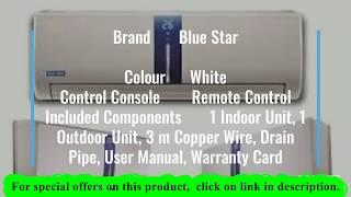 Blue Star 1.5 Ton Inverter Split Air Conditioner White