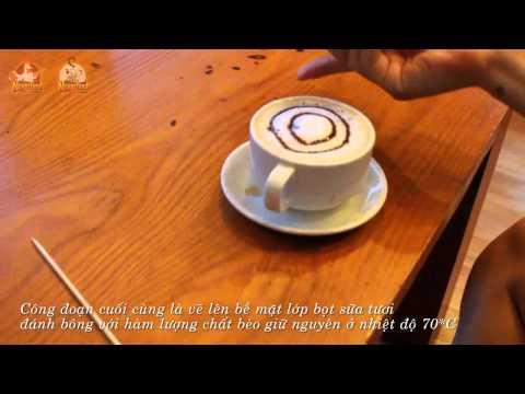 Cách làm Cafe Cappuccino