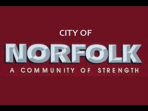 This is Norfolk Nebraska by The Bank of Norfolk