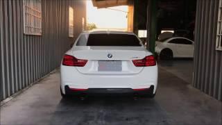 BMW F32 435i  X Fi Exhaust - Valve Open/Close Sound check l Super Loud!