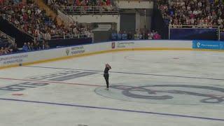 Alina Zagitova 2018 09 09 Open Skating FS Carmen D