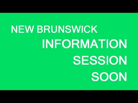New Brunswick sessions update, July 2017
