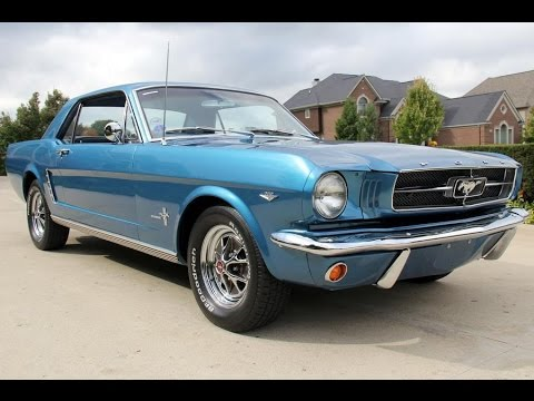 1964 1 2 ford mustang coupe for sale youtube. Black Bedroom Furniture Sets. Home Design Ideas