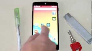 LG Google Nexus 5 scratch test