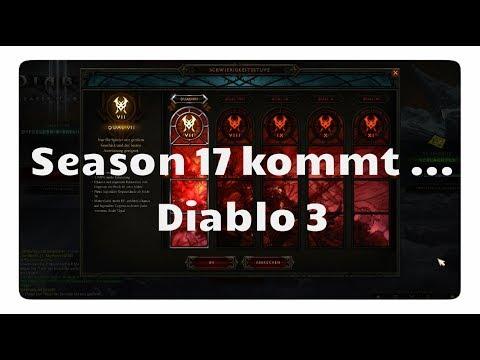 Season 17: Start, Ende, Sets und Legendarys - Diablo 3