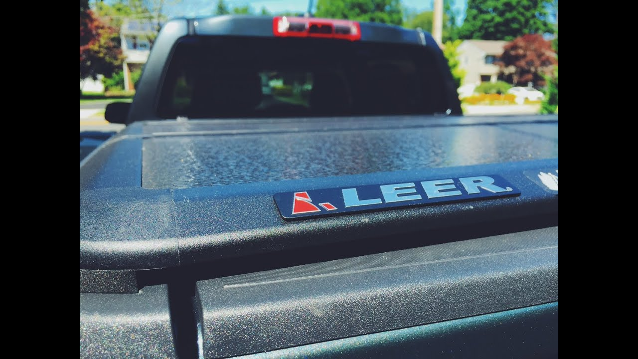 Leer Trilogy Bed Cover 2015 Chevy Colorado - YouTube