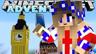 Minecraft-Little Carly Adventures-SELFIES IN LONDON!! w/Little Kelly.