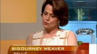 Sigourney weaver talks wall-e