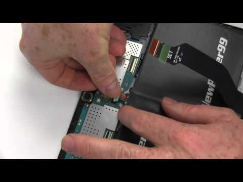 How to Replace Your Samsung Galaxy Tab S 10.5 SM-T805W Battery