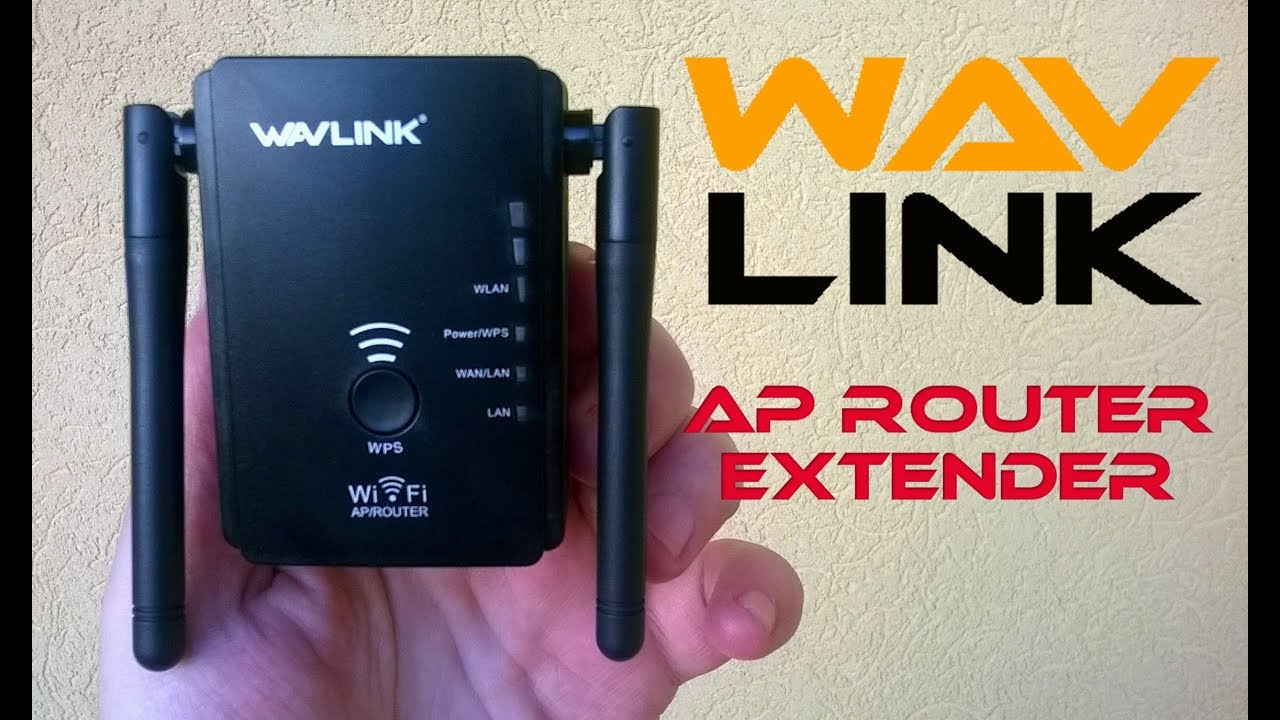 Wavlink AP Router Extender Quick Installation Guide