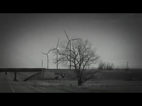 Wind power trucker view