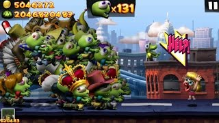 Zombie Tsunami High Score 2 Billion Zombies No More Humans Left Bluestack Cheats