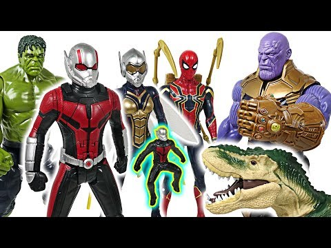 Marvel Avengers Ant-Man and Wasp, Hulk! Defeat the Thanos with insect friends! - DuDuPopTOY