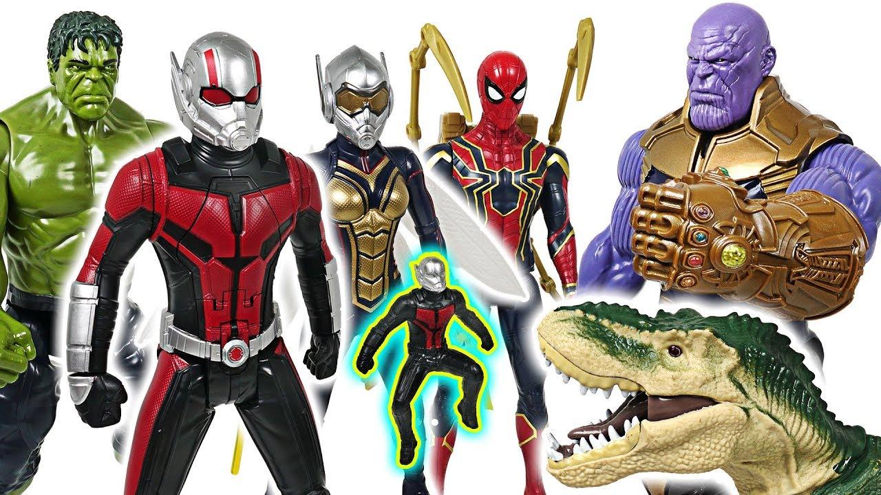 FriendsDudupoptoy Marvel Avengers WaspHulkDefeat Insect With Ant And Man Thanos The PXiOZTku