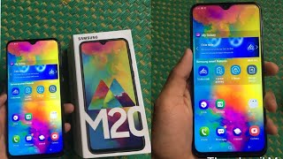 Samsung galaxy m20 unboxing & review || first look ♨️♨️