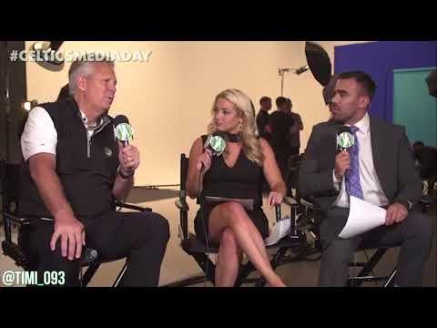 Danny Ainge FULL Media Day Interview (09/25/2017)